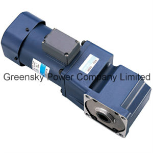 180W 104mm AC Spiral Bevel Angle Gear Motor pictures & photos
