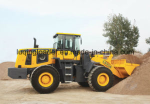 5ton Loading Capacity Wheel Loader (LQ956) with Low Price pictures & photos