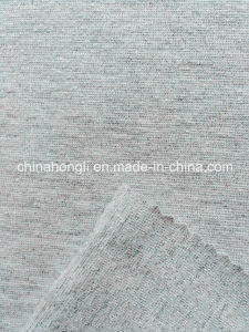 Nylon Metalic Spandex Melange Single Jersey Fashion Knitted Fabric for Casual pictures & photos