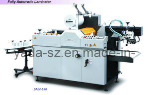 Fully Automatic Oil Heating Thermal Film Laminator Sadf-540 pictures & photos