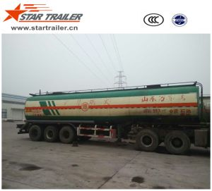 Used 3 Axle Fuel Tank Semi Trailer pictures & photos