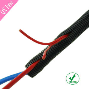 RoHS Flexible PA PP PE Plastic Split Wire Loom pictures & photos