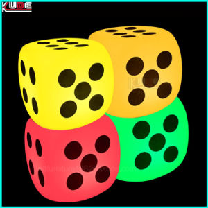 LED Illuminated Cube Dice Glowing Dice Seating Lamps pictures & photos