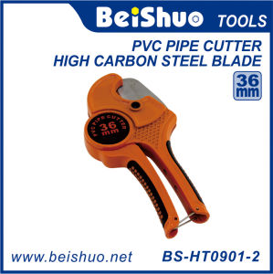 Quick Release/Automatic Ratchet Type Plastic Pipe Cutter