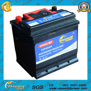 DIN62 12V62ah Maintenance Free Car Battery pictures & photos