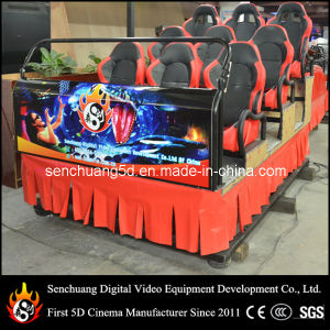 in Venezuela The Most Popular 5D Cinema with Nine Chairs