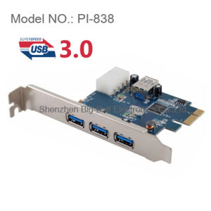 USB 3.0 PCI-E PCI Express Card 3+1 Ports