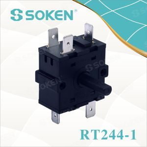 High-Temperature Rotary Switch with 5 Position (RT244-1) pictures & photos