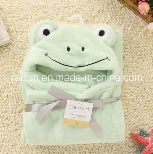 Flannel Blanket Cartoon Cloak Blanket for Export