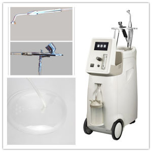 China Facial Skin Care Oxygen Water Spray Jet Peel Beauty Machine pictures & photos