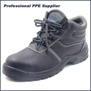 China Cheap Buffalo Leather Safety Shoes for Workers pictures & photos