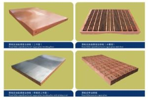 China funnel type thin slab copper mould plate for continuous funnel type thin slab copper mould plate for continuous casting machine publicscrutiny Images