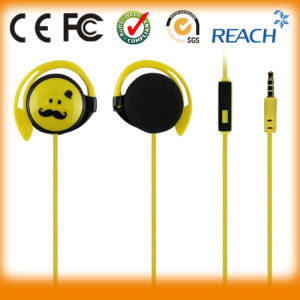 Direct Wholesale Stereo Cute Sports Earphones pictures & photos