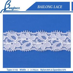 2cm Nylon Lace Trimming for Garment Accessories (S1102)