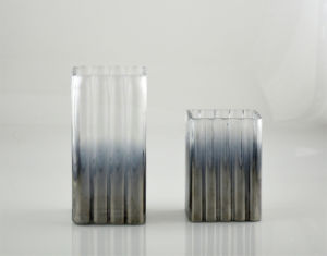 Glass Vase in French Grey pictures & photos