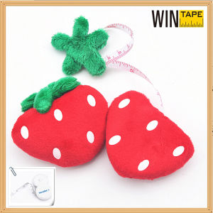 Strawberry Shape Cloth Funny Gift Measuring Tape pictures & photos