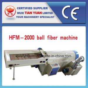 Nonwoven High Quality Efficiency Ball Fiber Machine pictures & photos