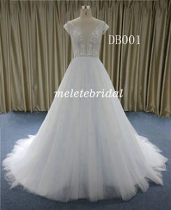 China Wholesale Price 2019 New Fashion A Line Wedding Gown China