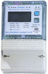 Three Phase Multi-function Energy Meter Type (DTSD999)