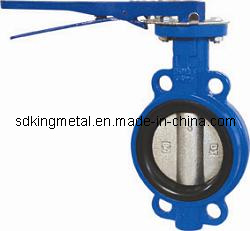 Wafer Type Cast Ductile Iron Butterfly Valve pictures & photos