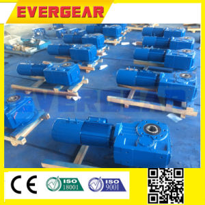 Mtj Series Helical Bevel Gear Electric Motor Speed Reducer pictures & photos