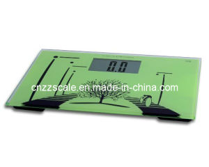 Automatic Glass Bathroom Health Scale pictures & photos