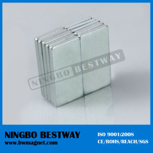 China 100mm Block Strong NdFeB Magnet pictures & photos