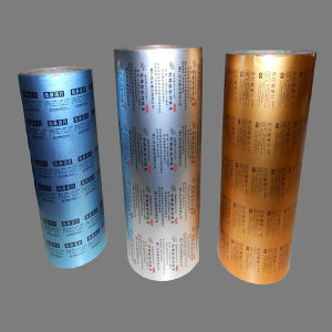 Pharmacetical Grade Foil Roll Colored Ptp Aluminum Foil for Pills pictures & photos