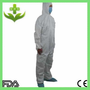 Wuhan Xiantao Hubei MEK OEM Design Disposable PP/ SMS Protective Overall pictures & photos