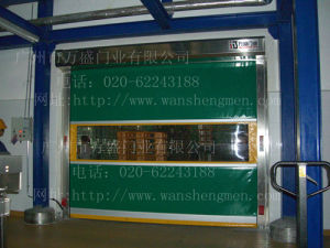 High Speed Fast PVC China New Deisgn Industrial Door
