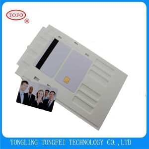 Full Color Printing Plastic Inkjet Printable PVC Card pictures & photos