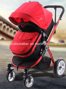 Aluminum Frame Deluxe 3 in 1 Baby Stroller pictures & photos