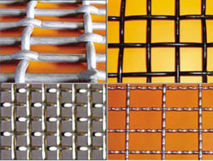 Top Quality Square Woven Crimped Wire Mesh pictures & photos