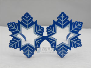 PC Snowflake Novelty Sunglasses (GGM090) pictures & photos