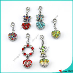 3D Heart Charms for Bracelet Charms (MPE)