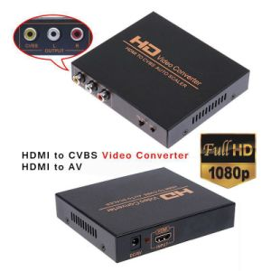 Supports NTSC and PAL HDMI to Cvbs Auto Scaler HDMI to AV Converter pictures & photos