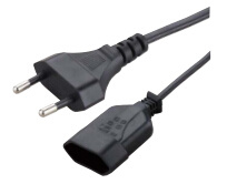 VDE Approved European 2-Pin Power Cord pictures & photos