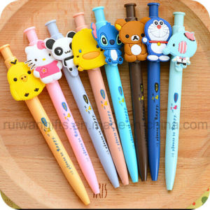 Promotional Pen with Cartoon Figure for Kids pictures & photos