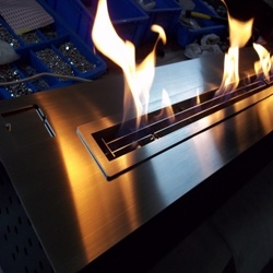Automatic Bioethanol Fireplace Insert Burner Af66 with Remote Control