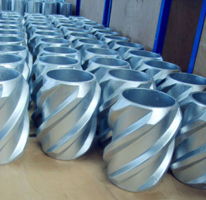 Aluminum Spiral Blade Solid Body Rigid Centralizer pictures & photos