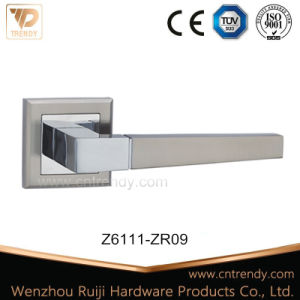 European Classic Style Square Tubular Door Lever Handle (Z6111-ZR09)