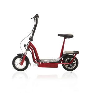 "450W 12"" Folding Electric Bicycle with Rear Disk Brakes (MES-012) pictures & photos"