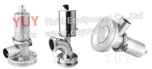 Stainless Steel Sanitary Tank Bottom Valve Pneumatic Actuator pictures & photos