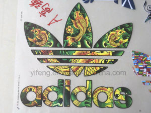 Grade a Offset Heat Transfer Print Stickers for Elastic Fabric pictures & photos