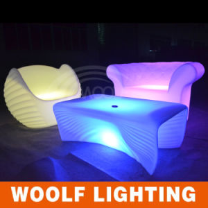 Color Change Outdoor Furnitures/LED Sofa/LED Sofa Furniture
