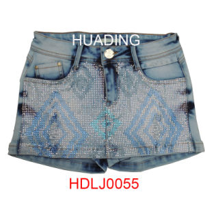 Summer Cheap Hot Sell Newest Denim Jeans (HDLJ0055) pictures & photos