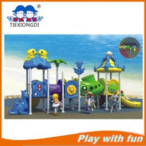 Interesting Kids Play School Set Outdoor Adventure Playgrounds pictures & photos