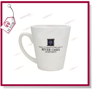 12oz Blank Ceramic Sublimation Cone Shape Coffee Mug pictures & photos