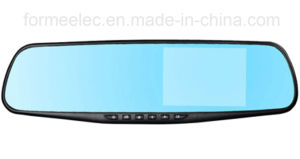 4.3 Inch Generalplus2248 Dual Camera Car Rearview Mirror DVR pictures & photos