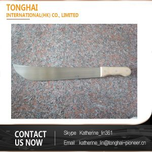 Professional Rail Steel Wood Handle Machete